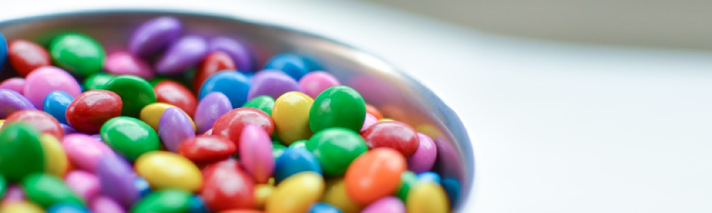Bowl of smarties